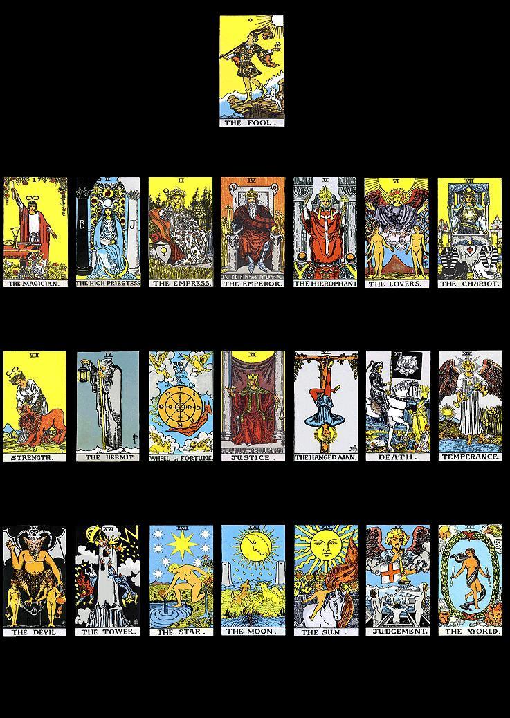 Tarot Major Arcanum: Archetypal Masters of the Tarot